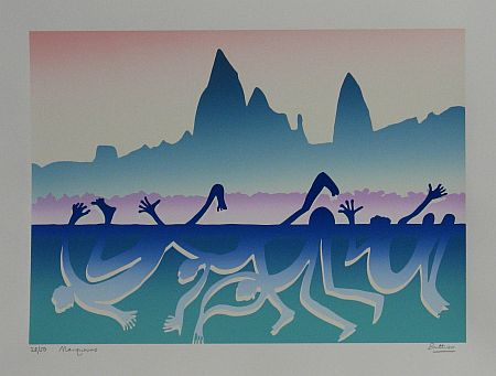 Click the image for a view of: Marquesas. Silkscreen. 350X494mm
