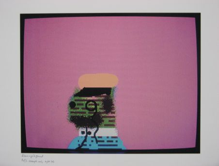 Click the image for a view of: Robert Hodgins. Officers and Gents 3. 1998/2001. Digital print. 10/20. 305X390mm