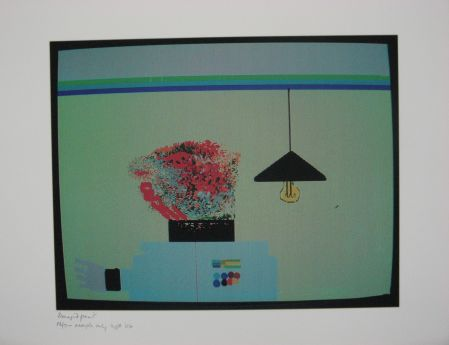 Click the image for a view of: Robert Hodgins. Officers and Gents 8. 1998/2001. Digital print. 10/20.  305X390mm