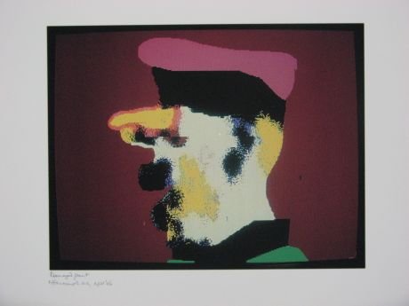 Click the image for a view of: Robert Hodgins. Officers and Gents 1. 1998/2001. Digital print. 10/20. 305X390mm