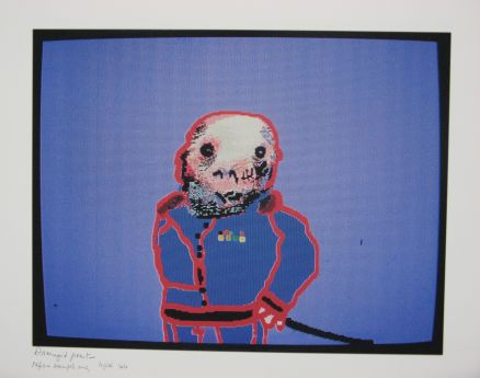 Click the image for a view of: Robert Hodgins. Officers and Gents 5. 1998/2001. Digital print. 10/20. 305X390mm