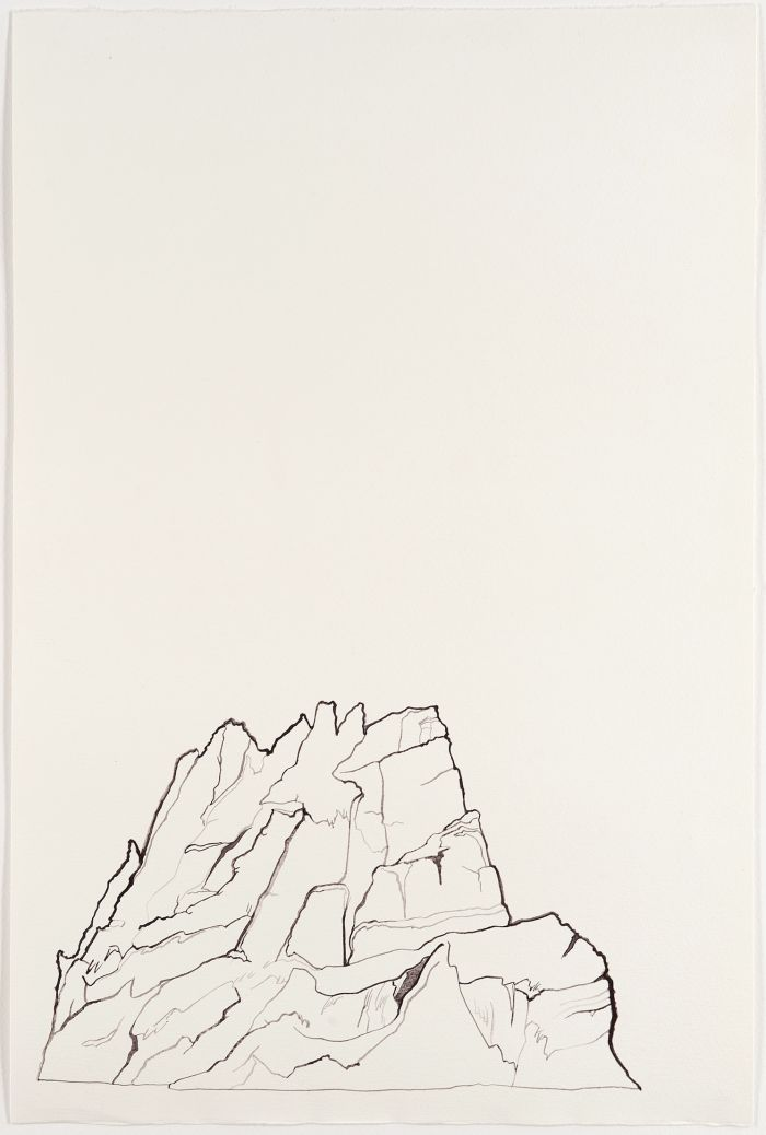 Click the image for a view of: Untitled I (landscape). 2011. Watercolour on paper. 510X340mm